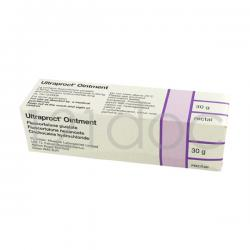 Ultraproct 1mg (Suppositories) x 12